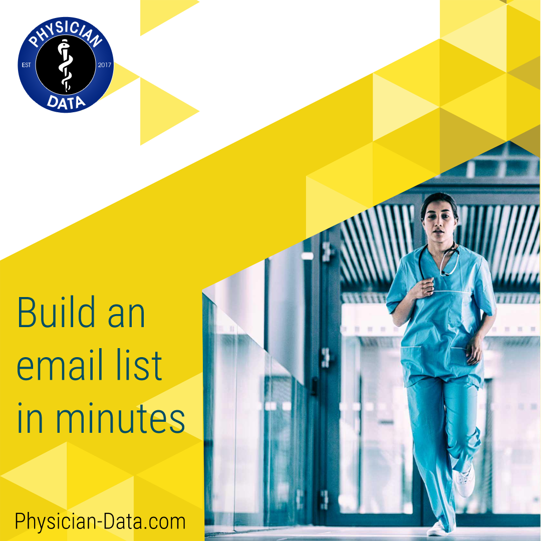 Physician Email Data:  Keeping it Simple
